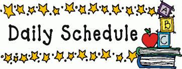 Classroom Daily Routine - St. Benedict School